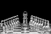 stock photo of king  - The king moves one square in any direction - JPG