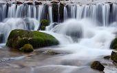 Beautiful Shipot Waterfall Cascade In Carpathian Mountains,western Ukraine