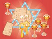 Pesach Seder Or Wine And Matza