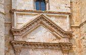 pic of pilaster  - Castel del Monte of Andria - JPG
