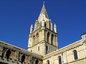 picture of church-of-england  - The spire of Christ Church Cathedral - JPG