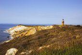pic of lighthouse  - Historic Gay Head Lighthouse - JPG