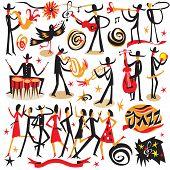 stock photo of saxophone player  - jazz musicians  - JPG