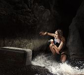picture of cave woman  - Adventure - JPG