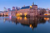 stock photo of prime-minister  - Binnenhof palace - JPG