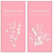 image of paper cut out  - Invitation or wedding card with elegant floral paper cut elements - JPG