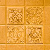 buff colored tiles in a kitchen