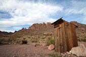 Outhouse In The Las Vegas Desert, Landscape