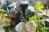 picture of paintball  - paintball sniper - JPG