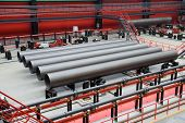 Big-diameter pipes for natural gas