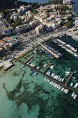 mondello's bay, palermo, sicily, italy