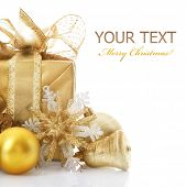 Christmas Gift isolated on white
