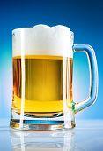foto of beer mug  - Mug of beer - JPG