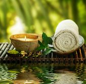 image of aromatic  - Spa Setting outdoor - JPG