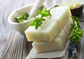 Natural handmade Soap with herbs