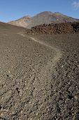 Pico Viejo And Mount Teide