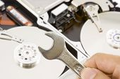 Reparación de disco duro