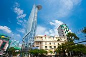 Ho Chi Minh City - December 18: Thre Bitexco Financial Tower Is The Tallest Building In Vietnam, Ina