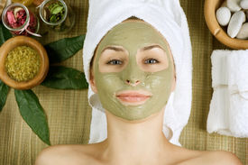 picture of face mask  - Spa Facial Mud Mask - JPG
