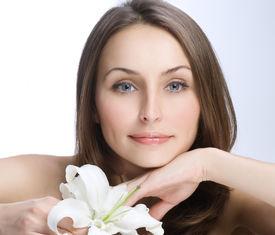 stock photo of beautiful woman  - Beautiful Woman - JPG