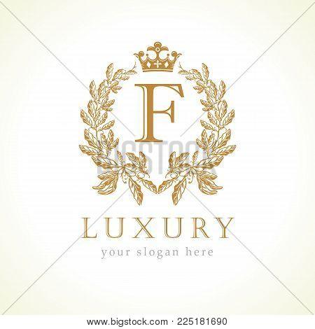 Luxury F letter