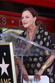 LOS ANGELES - AUG 11: Belinda Carlisle an der Zeremonie für die Go-Go-Stern auf dem Hollywood Walk-o