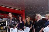 LOS ANGELES - AUG 11: Belinda Carlisle, The Go-Gos bei der Zeremonie für die Go-Go-Stern auf der Hol