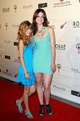 LOS ANGELES - JUN 14: Bella Thorne and Kaili Thorne  at the Rock-N-Reel event held at Culver Studios