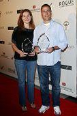 LOS ANGELES - JUN 14: Alexandra Milchan-Lambert and Scott Lambert at the Rock-N-Reel event held at C