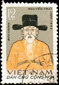 Nguyen Trai Vietnam Stamp