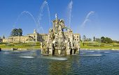 stock photo of perseus  - Witley Court Country House Worcestershire Midlands England Perseus and Andromeda fountain - JPG