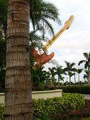 Guitar And Landscape