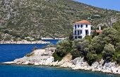Greek traditional house at Ithaki