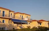 Traditional greek hotel at Kefalonia