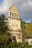 Saint Gerasimos steeple at Kefalonia in Greece