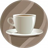 Cup of coffee, illustration