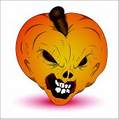 Horrible Halloween Pumpkin