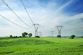 energy and high voltage powerline