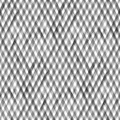 Watercolor Diagonal Stripe Plaid Seamless Pattern. Black Gray Stripes On White Background. Watercolo poster