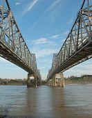 Miss. River Bridge Natchez