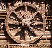 foto of dharma  - The Ashoka Chakra is a depiction of the Dharmachakra the Wheel of Dharma  - JPG