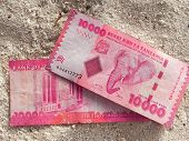 stock photo of shilling  - A photograph of Shillings from Tanzania - JPG