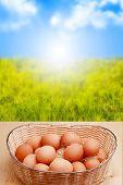 Eggs And Sunrise