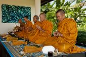 Blessings By Thai Monks