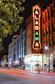 BIRMINGHAM, ALABAMA - APRIL 26: Alabama Theatre April 26, 2012 in Birmingham, AL. Built by Paramount