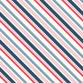 Diagonal Stripes Seamless Pattern. Simple Vector Slanted Lines Texture. Modern Abstract Geometric Co poster