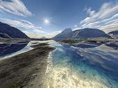picture of eastern hemisphere  - An image of a nice fantasy landscape - JPG