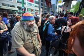 Occupy Wall Street Elder Aron Kay