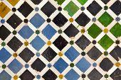 Details Alhambra Courtyard