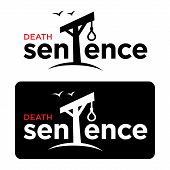 pic of hangman  - Death sentence crime court gallows rope loop hangman - JPG
